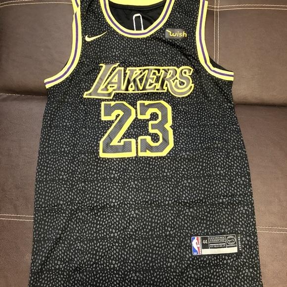 ed6a12947 Lebron James LA Lakers 23 Nike NBA Jersey Stitch